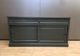 Dressoir Degen antraciet (180cm breed)