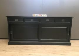 Dressoir Degen zwart (200cm breed)