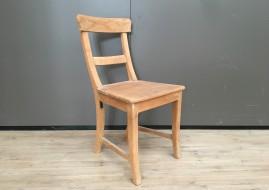 Teak houten stoel met balk