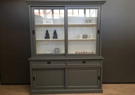 Buffetkast Degen grijs/wit (180cm breed)
