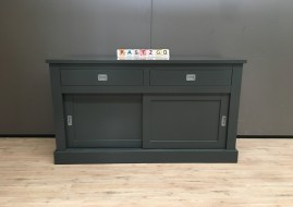 Dressoir Melbourne antraciet (160cm breed)
