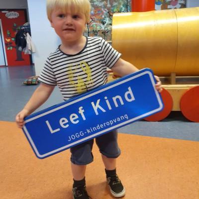 Leef Kind is JOGG-kinderopvang !
